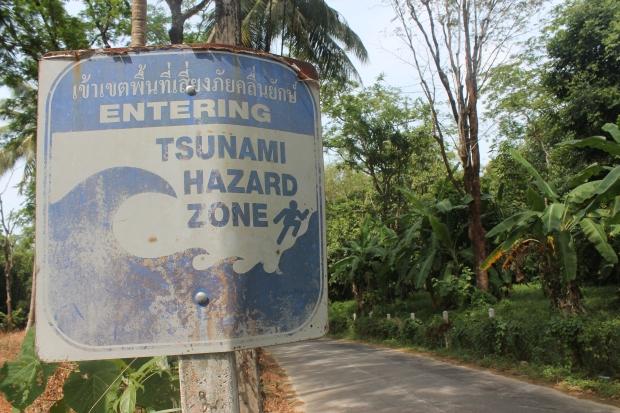 Khao Lak Tsunami warning